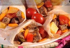 Patatesli Kağıt Kebabı Tarifi