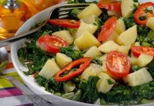 Patatesli Pazı Tavası Tarifi