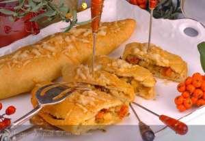 Patlıcanlı Kapalı Pizza Tarifi