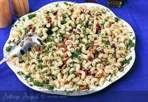 Pestolu Makarna Salatası Tarifi