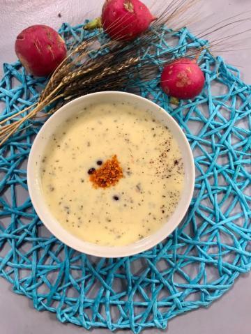 Peynir Altı Suyuna Yoğurt Çorbası Tarifi