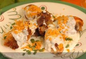 Peynir Soslu Kremalı Tavuk Tarifi