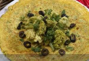 Peynirli Brokoli Omleti Tarifi