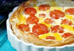 Peynirli Hazır Yufka Pizzası Tarifi