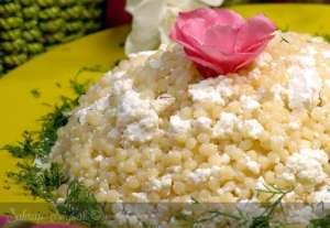 Peynirli Kuskus Pilavı Tarifi