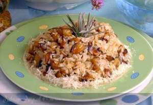 Peynirli Patlıcanlı Pilav Tarifi