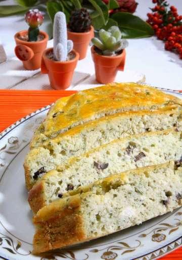 Peynirli Zeytinli Ayvalık Kek Tarifi
