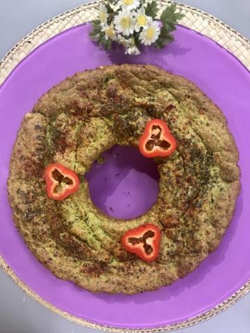 Sahrap'ın Avokadolu Ispanaklı Kek-Sağlıklı Mutfak Tarifi