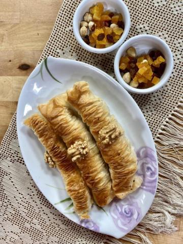 Sarı Burma Tatlısı – Hızlı Bayram Tatlısı Tarifi