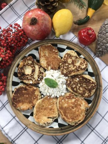 Sırniki-Peynirli Pankek Tarifi