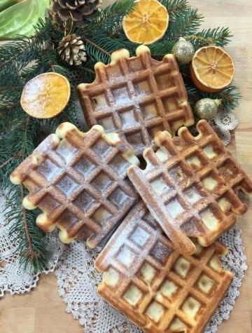 Siyez Unlu Waffle Tarifi
