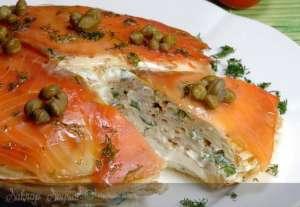 Somonlu Krep Pastası Tarifi