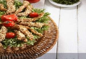 Susamlı Tavuk Salatası Tarifi