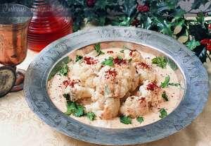 Tahin Soslu Karnabahar Salatası Tarifi