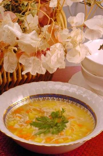 Tavuklu Antibiyotik Çorbası Tarifi