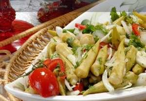 Tavuklu Bamya Salatası Tarifi