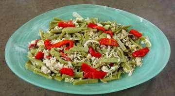 Tavuklu Yeşil Fasulye Salatası Tarifi
