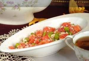 Taze Çökelek Salatası Tarifi