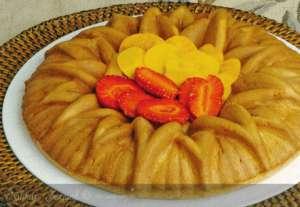 Taze Meyveli Fındıklı Kek Tarifi