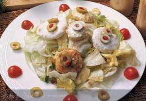 Tulum Peynirli Sezar Salatası Tarifi