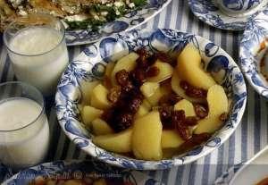 Üzümlü Elma Kompostosu Tarifi