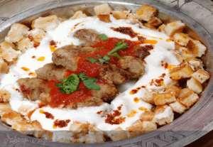 Yoğurtlu Köfte Kebabı Tarifi
