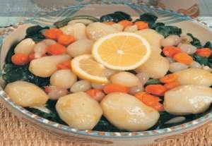 Zeytinyağlı Ispanaklı Yerelması Tarifi