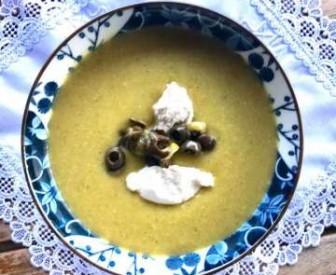 Zeytinli Patates Çorbası Tarifi